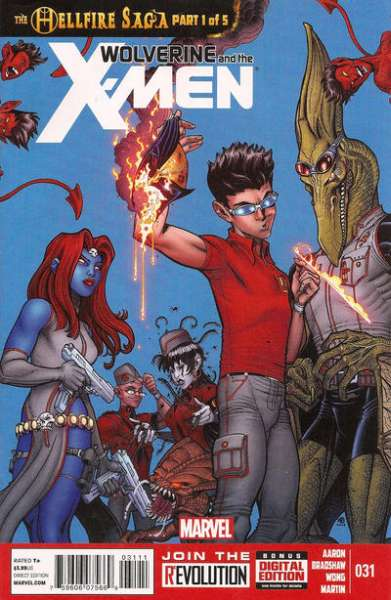 Wolverine & the X-Men #31 comic books for sale