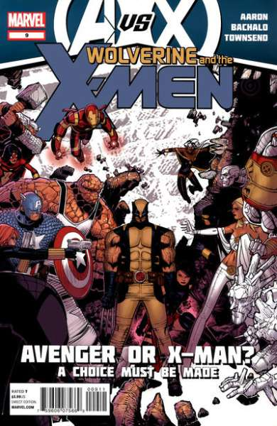 Wolverine & the X-Men #9 comic books - cover scans photos Wolverine & the X-Men #9 comic books - covers, picture gallery