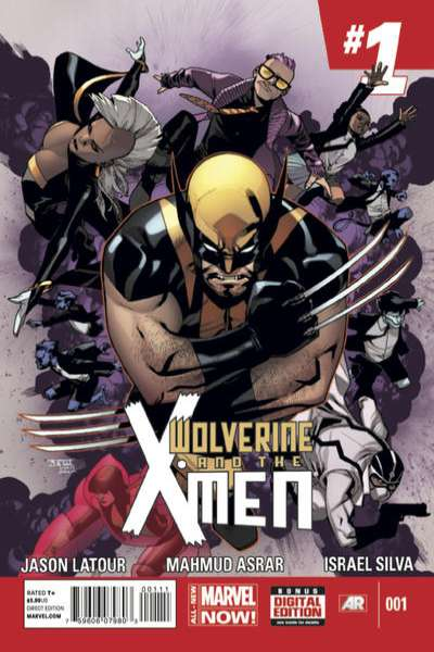 Wolverine & the X-Men comic books
