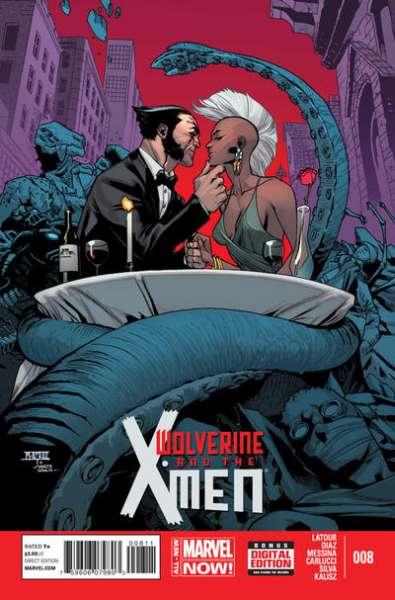 Wolverine & the X-Men #8 comic books for sale