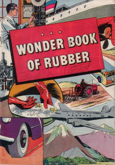Wonder Book of Rubber comic books