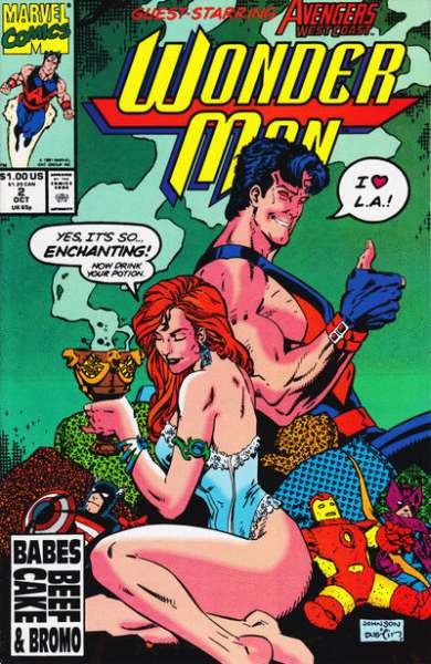 Wonder Man #2 Comic Books - Covers, Scans, Photos  in Wonder Man Comic Books - Covers, Scans, Gallery