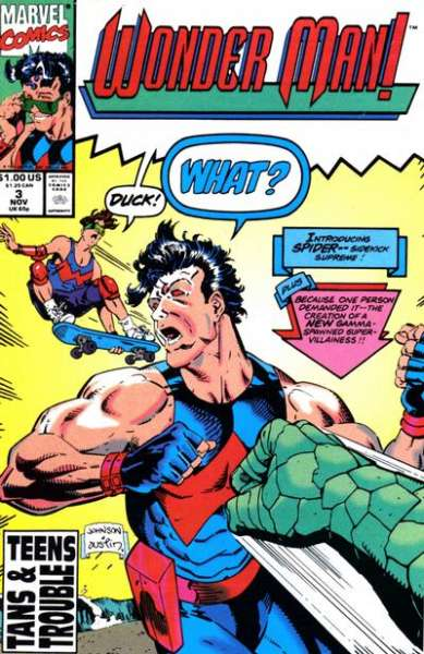 Wonder Man #3 Comic Books - Covers, Scans, Photos  in Wonder Man Comic Books - Covers, Scans, Gallery