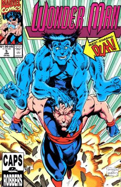 Wonder Man #5 Comic Books - Covers, Scans, Photos  in Wonder Man Comic Books - Covers, Scans, Gallery