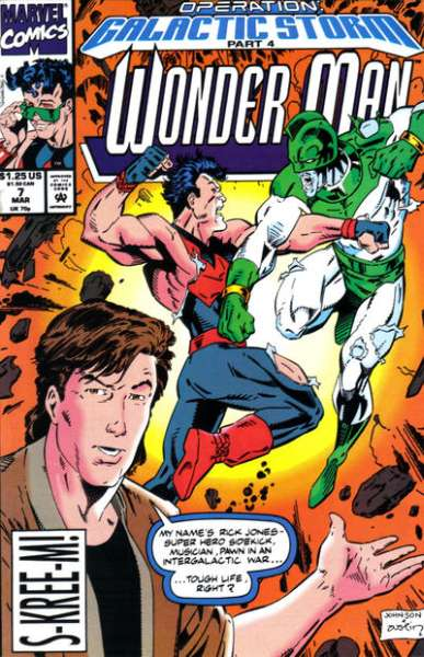 Wonder Man #7 comic books for sale