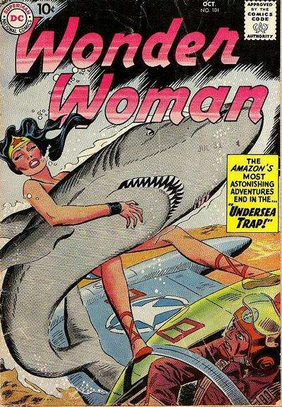 Wonder Woman #101 Comic Books - Covers, Scans, Photos  in Wonder Woman Comic Books - Covers, Scans, Gallery