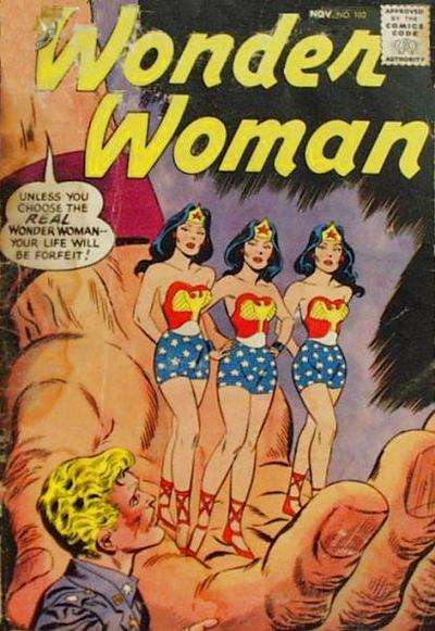 Wonder Woman #102 Comic Books - Covers, Scans, Photos  in Wonder Woman Comic Books - Covers, Scans, Gallery