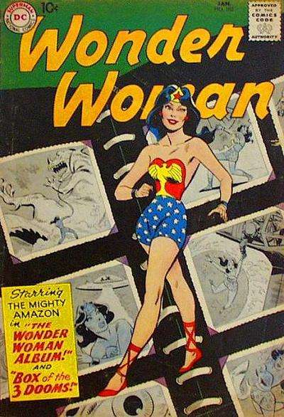 Wonder Woman #103 comic books - cover scans photos Wonder Woman #103 comic books - covers, picture gallery