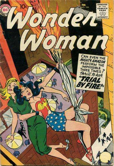 Wonder Woman #104 Comic Books - Covers, Scans, Photos  in Wonder Woman Comic Books - Covers, Scans, Gallery