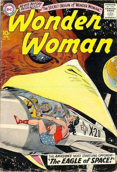 Wonder Woman #105 Comic Books - Covers, Scans, Photos  in Wonder Woman Comic Books - Covers, Scans, Gallery