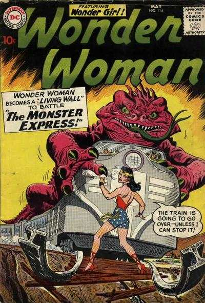 Wonder Woman #114 Comic Books - Covers, Scans, Photos  in Wonder Woman Comic Books - Covers, Scans, Gallery