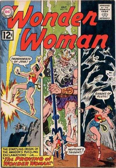 Wonder Woman #131 comic books - cover scans photos Wonder Woman #131 comic books - covers, picture gallery