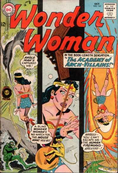 Wonder Woman #141 comic books - cover scans photos Wonder Woman #141 comic books - covers, picture gallery