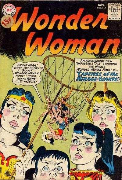 Wonder Woman #142 comic books - cover scans photos Wonder Woman #142 comic books - covers, picture gallery