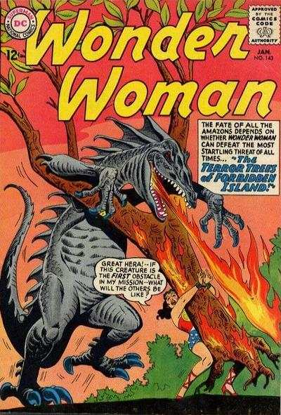 Wonder Woman #143 comic books for sale