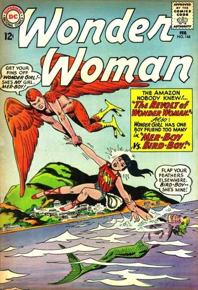 Wonder Woman #144 comic books - cover scans photos Wonder Woman #144 comic books - covers, picture gallery