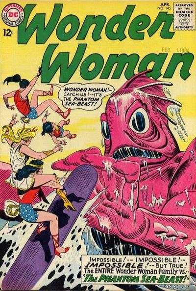 Wonder Woman #145 comic books - cover scans photos Wonder Woman #145 comic books - covers, picture gallery