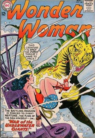 Wonder Woman #146 Comic Books - Covers, Scans, Photos  in Wonder Woman Comic Books - Covers, Scans, Gallery