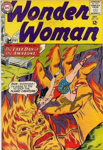 Wonder Woman #149 comic books - cover scans photos Wonder Woman #149 comic books - covers, picture gallery