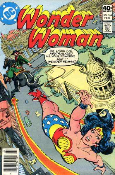 Wonder Woman #264 Comic Books - Covers, Scans, Photos  in Wonder Woman Comic Books - Covers, Scans, Gallery