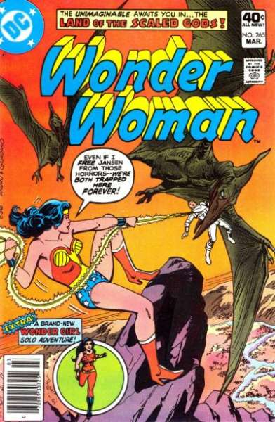 Wonder Woman #265 comic books for sale