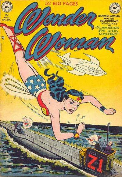 Wonder Woman #43 Comic Books - Covers, Scans, Photos  in Wonder Woman Comic Books - Covers, Scans, Gallery