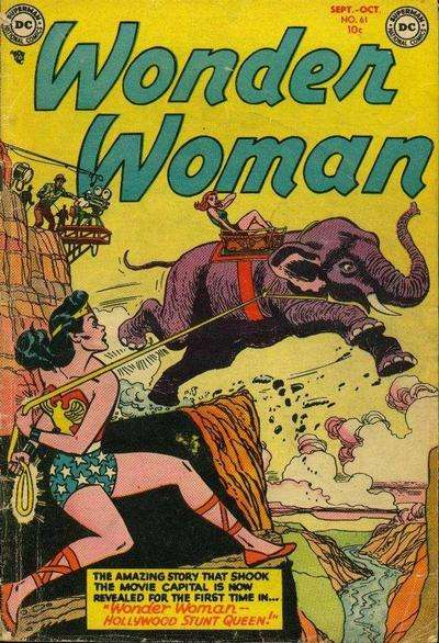 Wonder Woman #61 Comic Books - Covers, Scans, Photos  in Wonder Woman Comic Books - Covers, Scans, Gallery