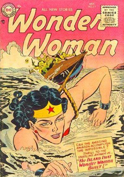 Wonder Woman #77 comic books - cover scans photos Wonder Woman #77 comic books - covers, picture gallery