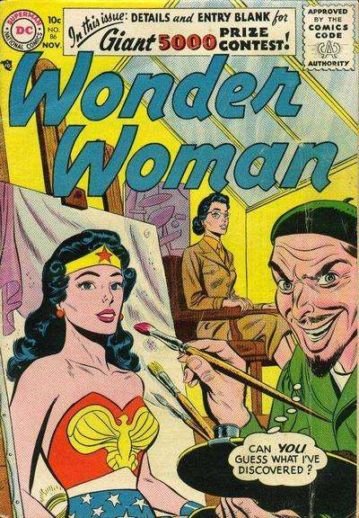 Wonder Woman #86 comic books - cover scans photos Wonder Woman #86 comic books - covers, picture gallery