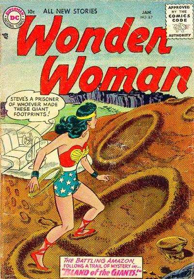 Wonder Woman #87 comic books - cover scans photos Wonder Woman #87 comic books - covers, picture gallery