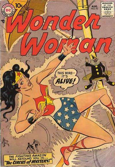 Wonder Woman #92 Comic Books - Covers, Scans, Photos  in Wonder Woman Comic Books - Covers, Scans, Gallery