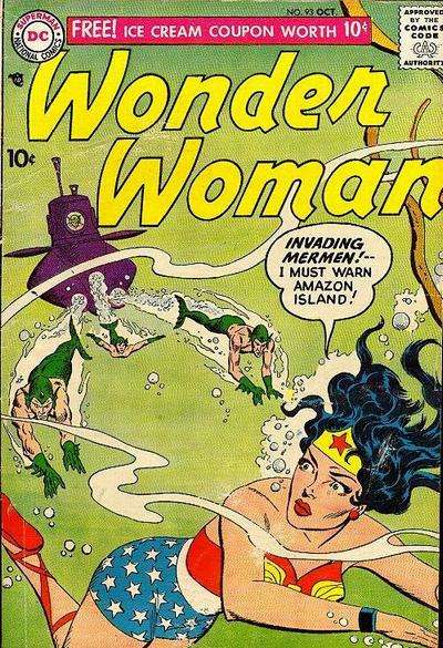 Wonder Woman #93 Comic Books - Covers, Scans, Photos  in Wonder Woman Comic Books - Covers, Scans, Gallery