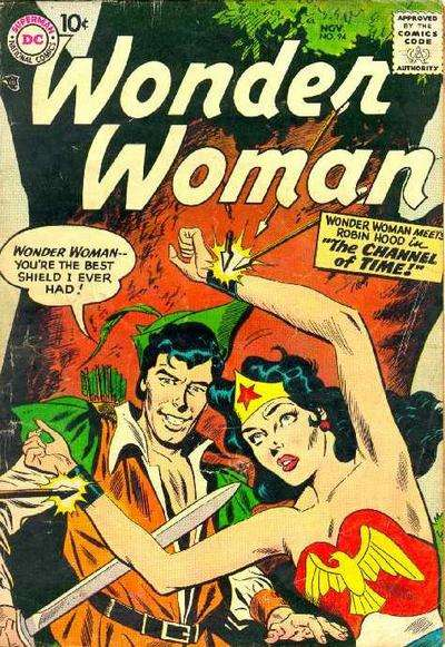 Wonder Woman #94 Comic Books - Covers, Scans, Photos  in Wonder Woman Comic Books - Covers, Scans, Gallery