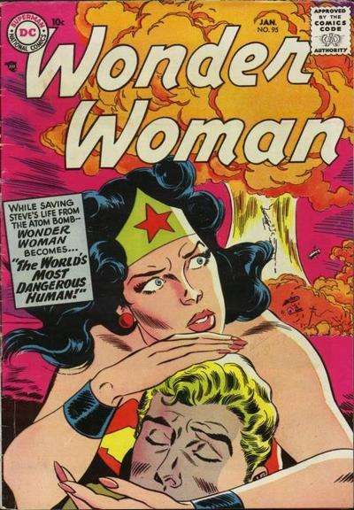 Wonder Woman #95 comic books - cover scans photos Wonder Woman #95 comic books - covers, picture gallery
