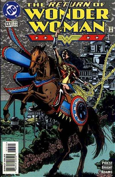 Wonder Woman #137 Comic Books - Covers, Scans, Photos  in Wonder Woman Comic Books - Covers, Scans, Gallery
