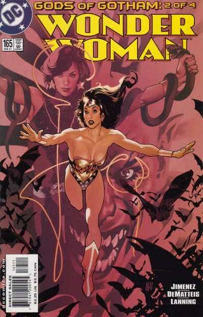 Wonder Woman #165 Comic Books - Covers, Scans, Photos  in Wonder Woman Comic Books - Covers, Scans, Gallery
