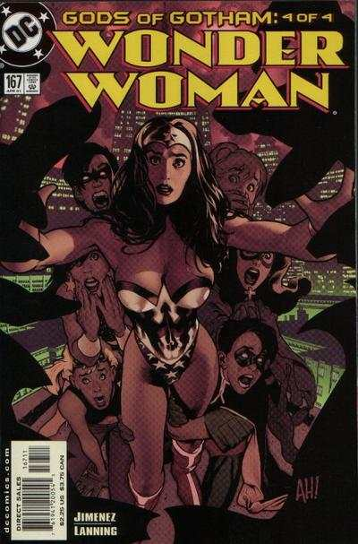 Wonder Woman #167 Comic Books - Covers, Scans, Photos  in Wonder Woman Comic Books - Covers, Scans, Gallery