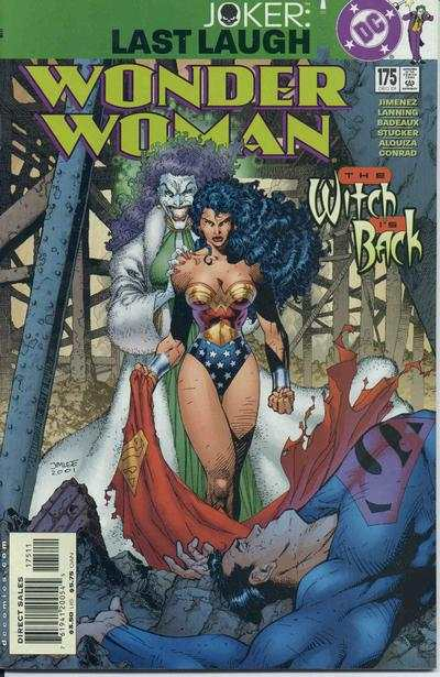 Wonder Woman #175 comic books for sale