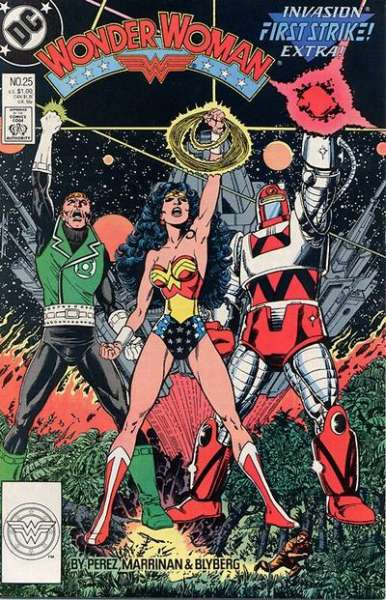 Wonder Woman #25 comic books for sale