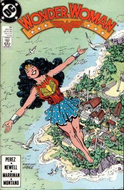 Wonder Woman #36 comic books for sale