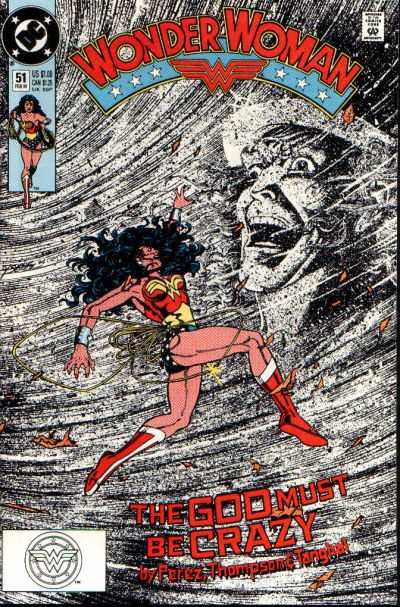 Wonder Woman #51 Comic Books - Covers, Scans, Photos  in Wonder Woman Comic Books - Covers, Scans, Gallery
