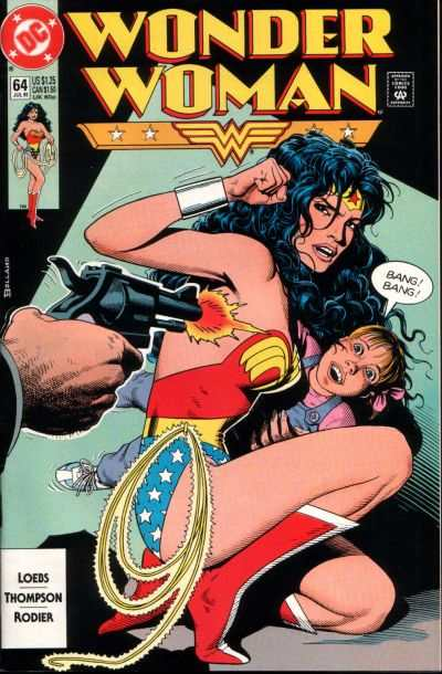 Wonder Woman #64 comic books for sale