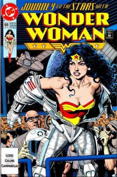 Wonder Woman #66 Comic Books - Covers, Scans, Photos  in Wonder Woman Comic Books - Covers, Scans, Gallery