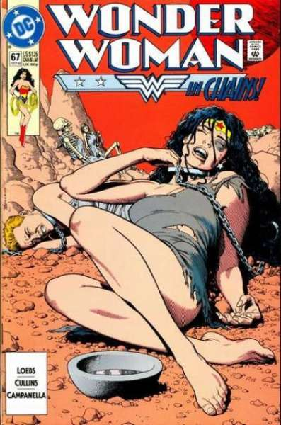 Wonder Woman #67 Comic Books - Covers, Scans, Photos  in Wonder Woman Comic Books - Covers, Scans, Gallery
