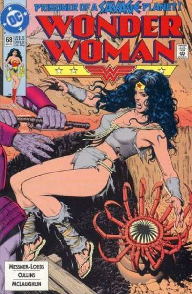 Wonder Woman #68 Comic Books - Covers, Scans, Photos  in Wonder Woman Comic Books - Covers, Scans, Gallery