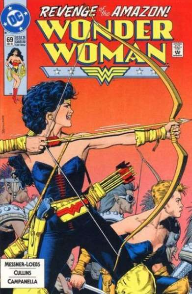 Wonder Woman #69 Comic Books - Covers, Scans, Photos  in Wonder Woman Comic Books - Covers, Scans, Gallery