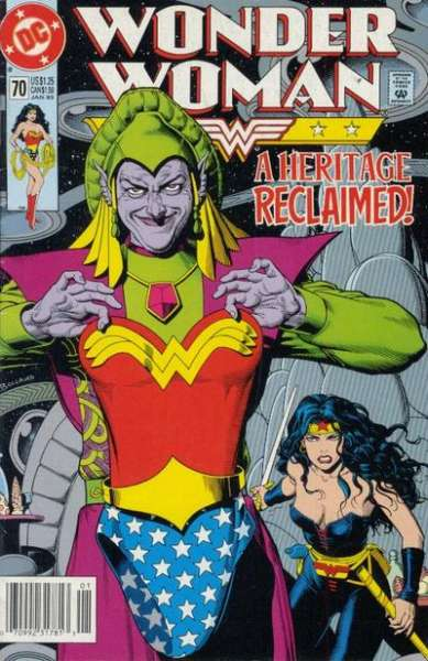 Wonder Woman #70 Comic Books - Covers, Scans, Photos  in Wonder Woman Comic Books - Covers, Scans, Gallery