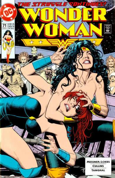 Wonder Woman #71 comic books for sale