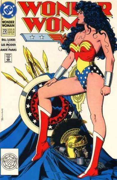 Wonder Woman #72 Comic Books - Covers, Scans, Photos  in Wonder Woman Comic Books - Covers, Scans, Gallery