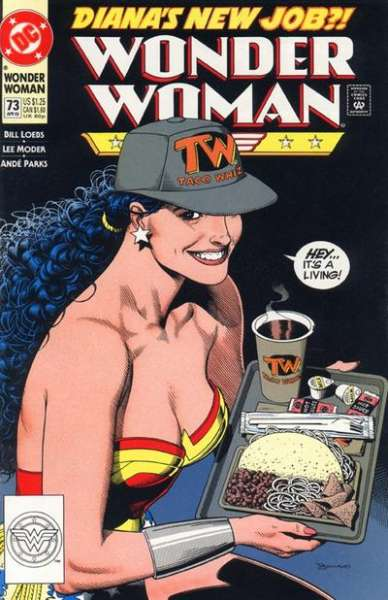 Wonder Woman #73 Comic Books - Covers, Scans, Photos  in Wonder Woman Comic Books - Covers, Scans, Gallery
